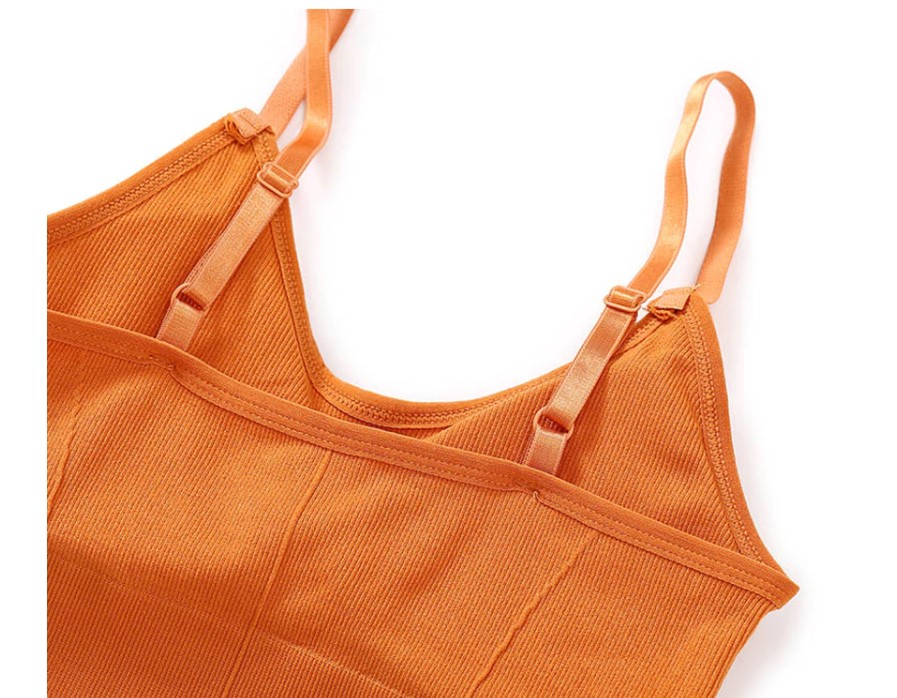 Women's Seamless Bralette with Removable Pads