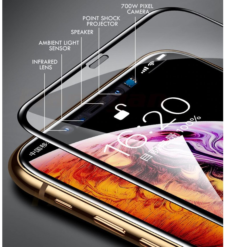 15D Protective Glass for iPhone