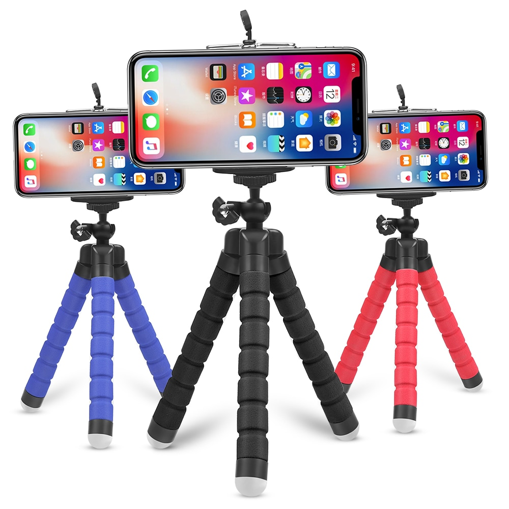 Colorful Flexible Phone Tripod