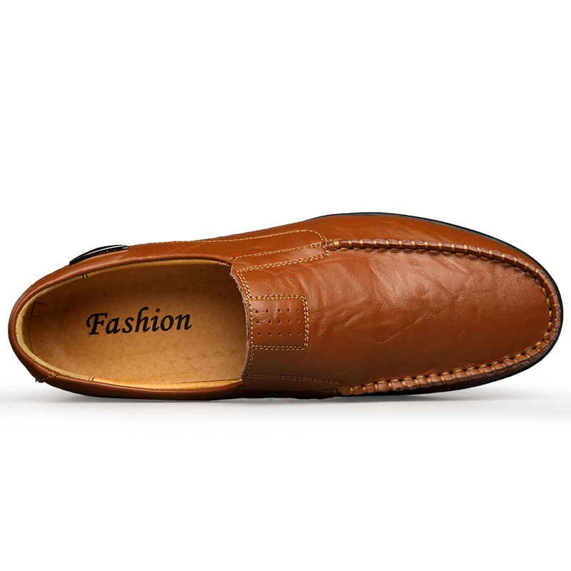 Men's Genuine Leather Casual Moccasins