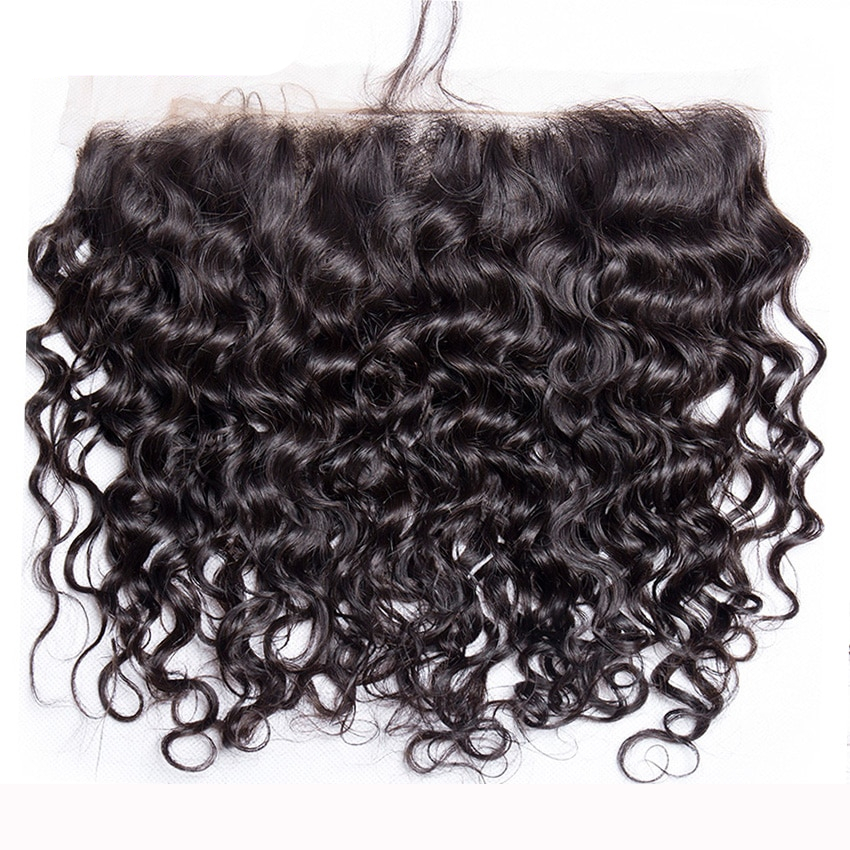 Malaysian Water Wave Bundles with Lace Frontal Closure
