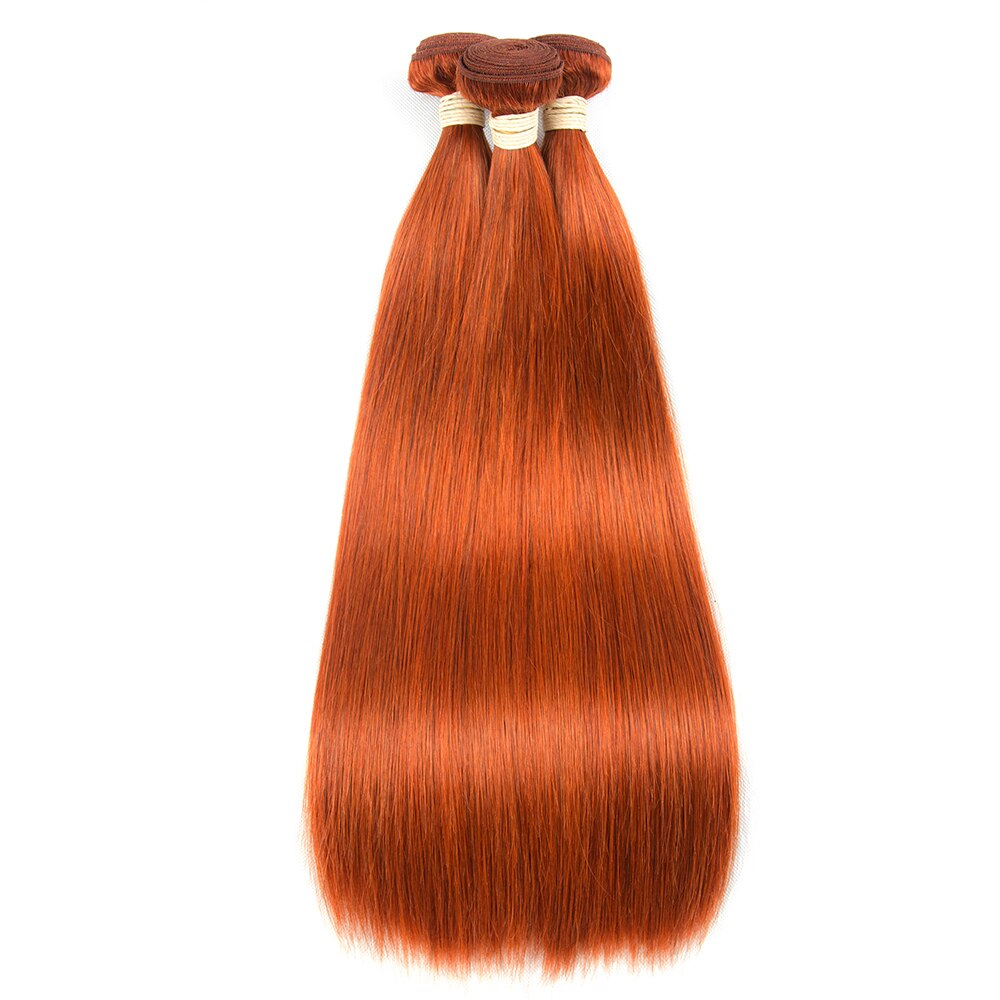Ginger Red Straight Sew-In Human Hair Extension