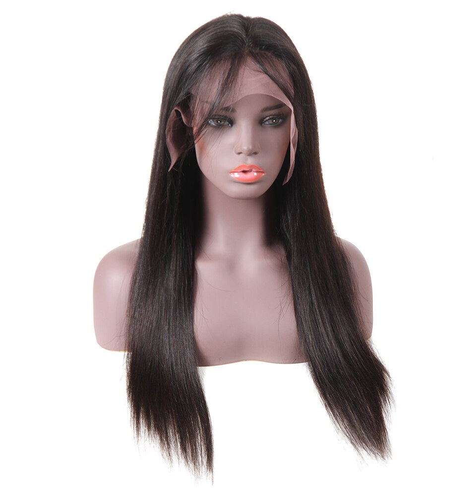 Women's Straight 360 Lace Frontal Wig with Baby Hair