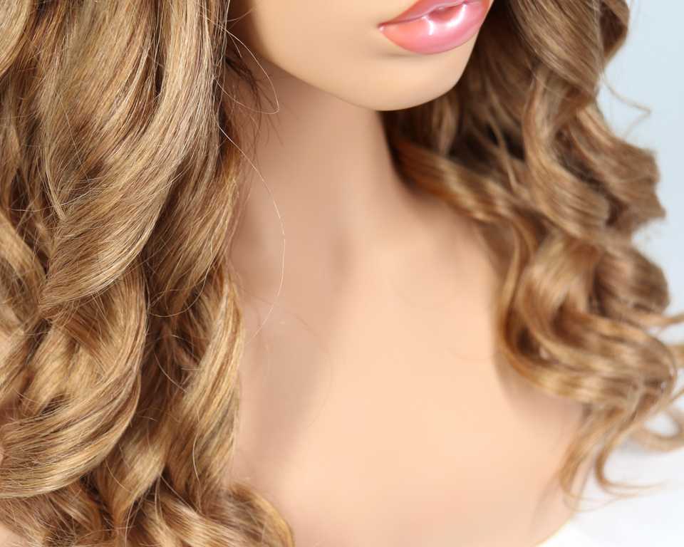 Blonde Ombre Long Body Wave Remy Human Hair Wig