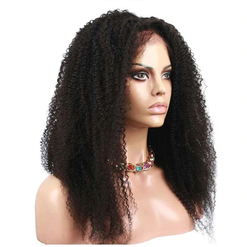 Women's Curly Lace Front Hair Wig
