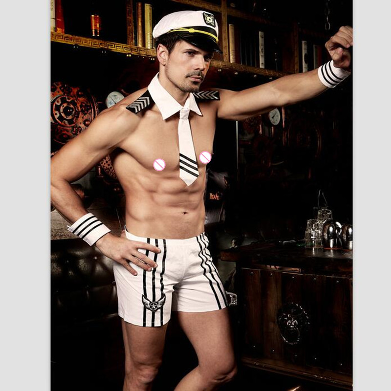 Men's Sexy Sailor Costume for Role Play